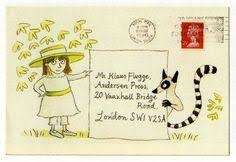 This is how Maurice Sendak <b>sometimes</b> sent his <b>letters</b>. Just imagine ...