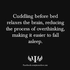 Cuddling/Snuggling on Pinterest | Cuddling, Night and Cuddle Buddy via Relatably.com