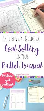 17 best ideas about goal setting examples short essential guide to goal setting in your bullet journal