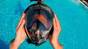 Test <b>Swimming</b> Full Face Mask Surface Underwater <b>Diving</b> Snorkel ...