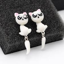 <b>CXW Free shipping</b> Animal earrings for women classic fashion big ...