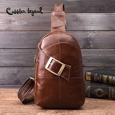 <b>Cobbler Legend 2019 Brand</b> Designer Men's Messenger Bag Single ...