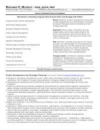 pmo resume sample  project management resume samples  financial    pmo resume sample