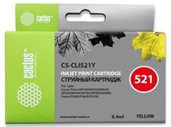 Струйный картридж Cactus CS-CLI521Y (CLI ... - CACTUS-TRADE