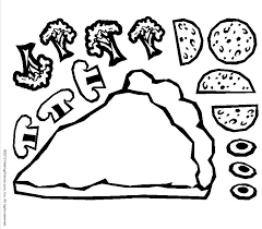Small Picture Pepperoni Coloring Page Coloring Coloring Pages