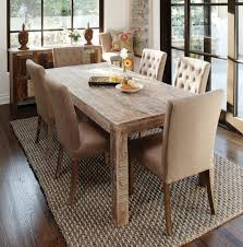 dining room table plans shiny:  interior modern reclaimed wood dining table rustic room plans dark brown varnishes rectangle solid polished rectangular