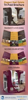 graphicriver elegant real estate tri fold brochure graphicriver elegant real estate tri fold brochure template