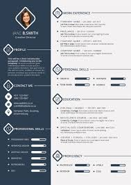 professional cv more than years working experience graphical cv sample 1 page cv