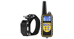 Lovepets <b>880 800m Waterproof</b> Rechargeable Remote Control Dog ...