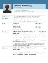 glimmer modern professional resume templates