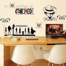 150 x 65cm <b>Cartoon</b> Marine Wall sticker <b>One Piece</b> car sticker Vinyl ...