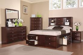 emily bedroom set light oak: f bedroom in espresso by poundex w optional casegoods