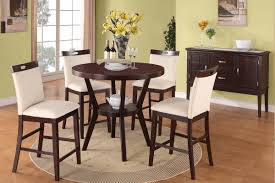 Tall Dining Room Table And Chairs Dining Room Awesome Height Dining Table Set With Bar Height