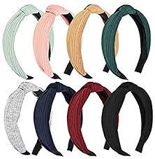 8PCS Fashion Hair Hoop Wide <b>Headbands Knot</b>, <b>Cross Knot</b> Hair ...