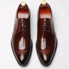 Real <b>Leather Dress</b> Formal Oxfords shoes Hot Men's <b>Business</b> ...