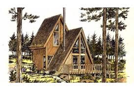 Eplans A Frame House Plan   One Bedroom A Frame   Square Feet    Front