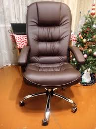 Обзор от покупателя на <b>Кресло Tetchair СН9944 Хром</b>, кож/зам ...