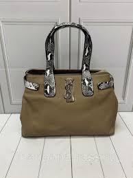 Брендовая сумка <b>Yves Saint Laurent</b> Ив Сен Лоран <b>Рептилия</b> ...