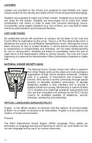 student parent handbook brent international school baguio