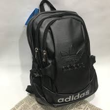 <b>2018 new arrival</b> Adidas <b>PU</b> leather backpack | Shopee Malaysia
