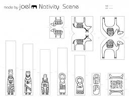 made by joel paper city nativity scene related posts