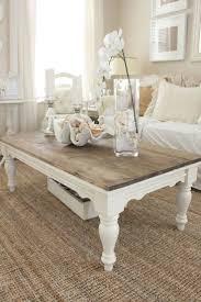 room decor ideas coffee table white