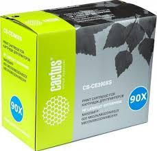 Купить <b>Cactus CE390X Картридж</b> (<b>CS</b>-<b>CE390XS</b>) для принтеров ...
