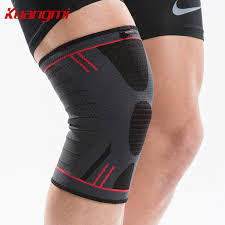 <b>Kuangmi 1 pair</b> Elastic knee sleeve Compression Support Sports ...