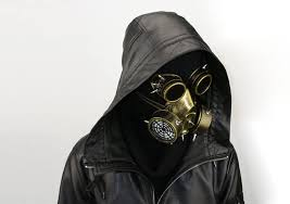 N/N Easter Steampunk Gas Mask Goggles Halloween ... - Amazon.com