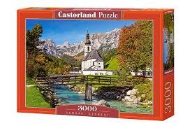<b>Пазл</b> - Рамзау, Германия (Castorland) 3000 эл | Германия, <b>Пазлы</b> ...