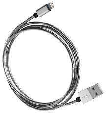 <b>Кабель Qumo USB</b> - Lightning (MFI fullmetaL) 1 м — купить по ...