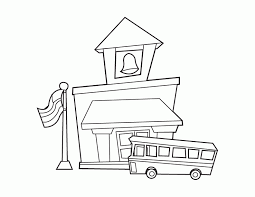 Small Picture School House Coloring Red For Kids New Coloring Pages Coloring