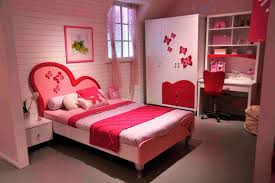 bedroom cute girl bed with color identity beside wooden armoire and desk plus beautiful ikea girls bedroom ideas cute home