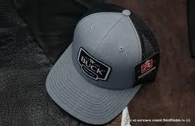 Купить <b>Бейсболка BUCK</b> B89142 <b>Gray Logo</b> Patch Cap за 1 326 ...