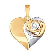 <b>Подвеска SOKOLOV из золота</b> (арт. 3995412) - купить в ...