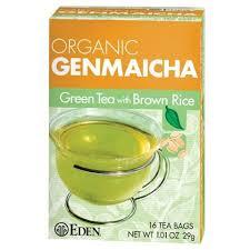Eden Foods <b>Genmaicha</b> Tea, <b>Organic</b>