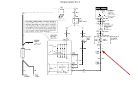 ford f150 new alternator fuse located on the wiring harness going here is the diagram