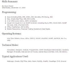it careers and it jobs in canada   cv ready to be hiredskill summary example
