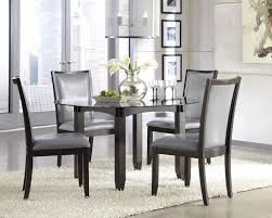 Black Dining Room Chairs Dining Room Modern Set With Colorful Chair And Glass Nice Lamp