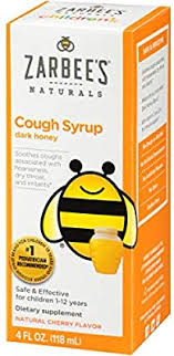 Zarbee's Naturals <b>Children's Cough Syrup</b> with <b>Dark</b> Honey, Natural ...