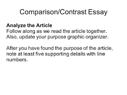 writing portfolio mr butner writing portfolio due date 25 comparison contrast