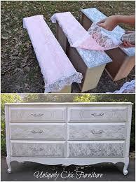 diy furniture restoration ideas. Lovely Lace Decor Projects PaintingFurniture MakeoverDiy Diy Furniture Restoration Ideas