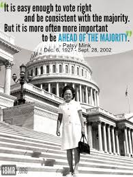 Quotes by Patsy Mink @ Like Success via Relatably.com
