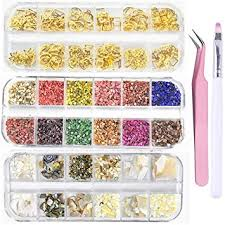 Amazon.com: edtiTime 3 <b>Boxes</b> Nail Art Shell <b>Abalone</b> Slices and ...