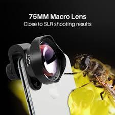 75 мм 10X макрообъектив для камеры телефона 17 мм резьба ...
