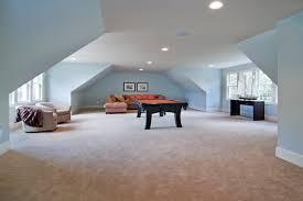 Bonus Room Over Garage Home Design Ideas  Pictures  Remodel and DecorElegant family room photo in Minneapolis