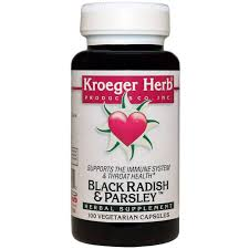 <b>Black Radish & Parsley</b>, Kroeger Herb