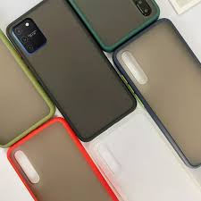 Yiamia <b>Mint Hybrid Simple</b> Matte Bumper Phone Case For Samsung ...