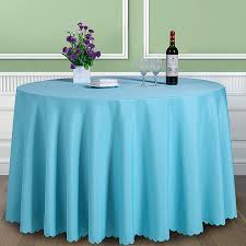 rectangular dining table cover cloth knitted vintage: solid color  polyester round table cover fabric square dining table cloth tablecloth hotel office wedding booth setting
