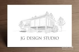 modern architecture firm business card diomioprint architect office names